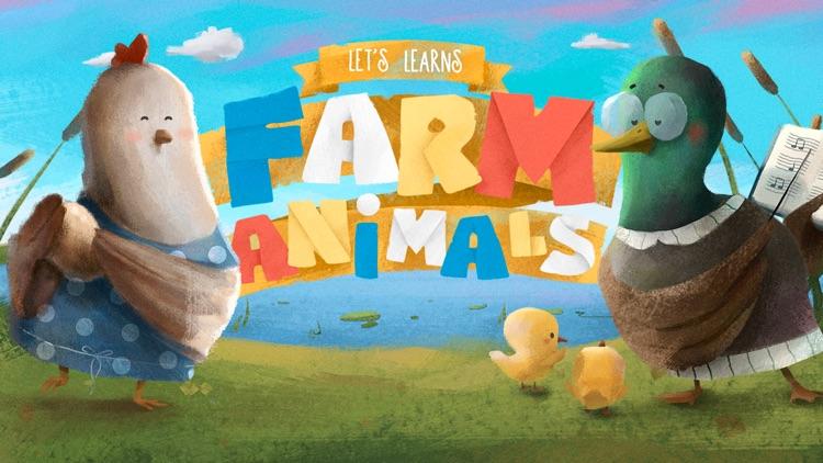 Let's Learn: Farm Animals screenshot-7