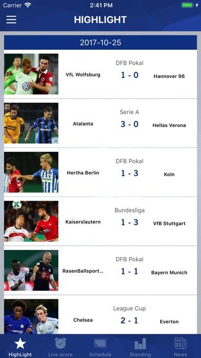 Screenshot #8 for Football TV - Football Scores