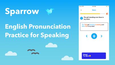 Sparrow English Pronunciation | App Price Drops