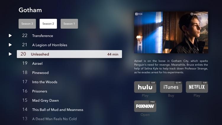 WatchAid TV Show Planner