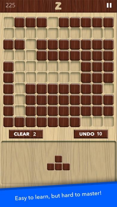 Zen Blocks - Wood Puzzle Game screenshot two