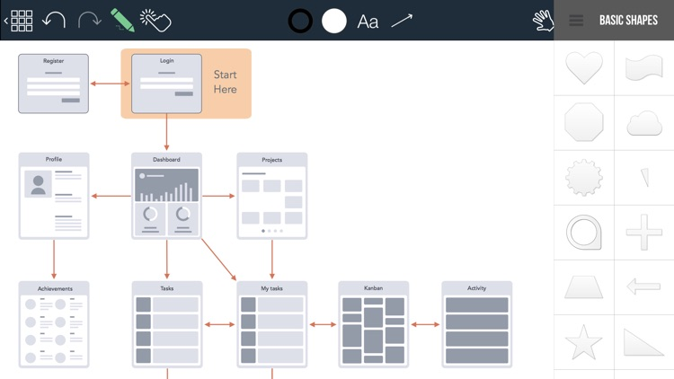 Grafio 3 - Diagram Maker screenshot-5