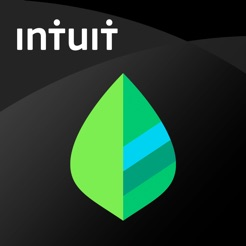 Via Itunes.com [Image description: Mint app logo, a green leaf against a black backdrop.]