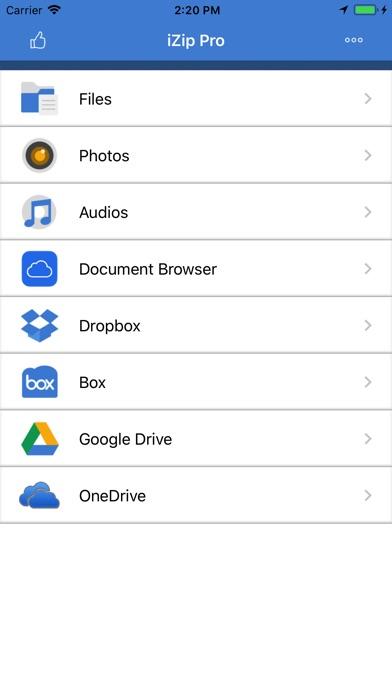 iZip - Zip Unzip Unrar Tool iPhone