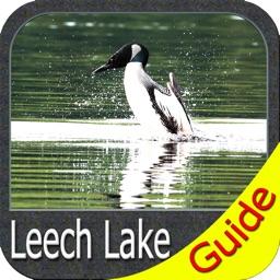 Leech Lake Minnesota GPS fishing charts navigator