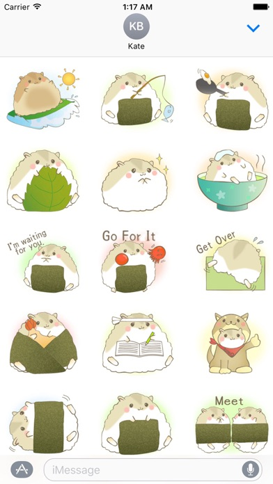 download Adorable Fat Hamster Sticker apps 1