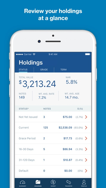 LendingClub Invest screenshot-1