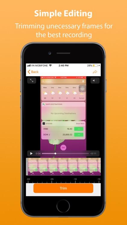 Record Pro: Screen recording screenshot-4