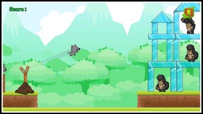 Angry animals attack gorillas Screenshot 7