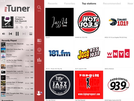myTuner Radio Pro Screenshots