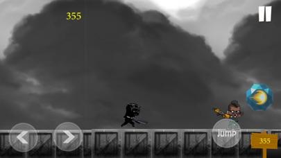 Black Panther Runner Shooter Screenshot 3