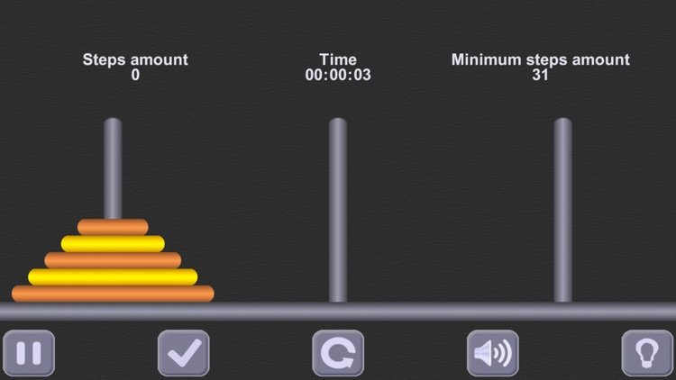 The Tower of Hanoi. (ad-free) screenshot-0