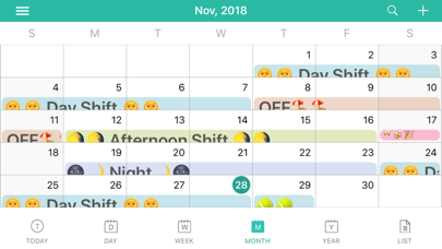 Screen Shot ShiftView - Shift Calender app 6