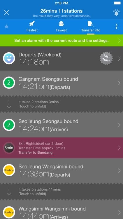 Subway Korea screenshot-4
