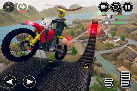 Dirt Bike Stunt Race-r Game 3D - náhled