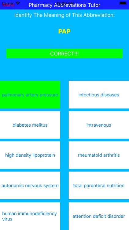 Pharmacy Abbreviations Tutor By Joseph Kodet
