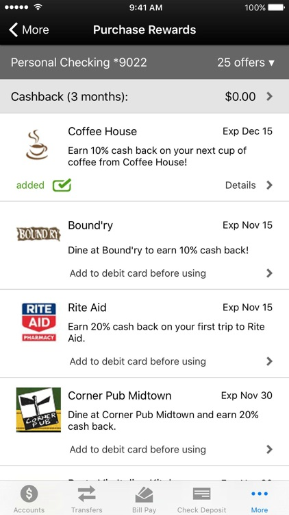 CharterBank Mobile Banking screenshot-2
