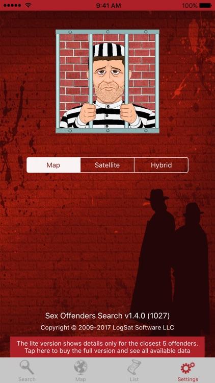 Sex Offenders Search Lite screenshot-4