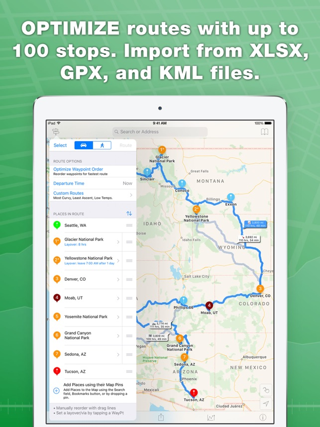 Inroute route planner on the app store inroute route planner on the app store gumiabroncs Gallery