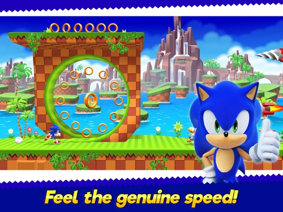 Sonic Runners Adventure screenshot #1