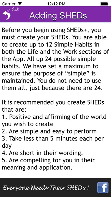 SHEDs+ - Simple Habits + screenshot-3