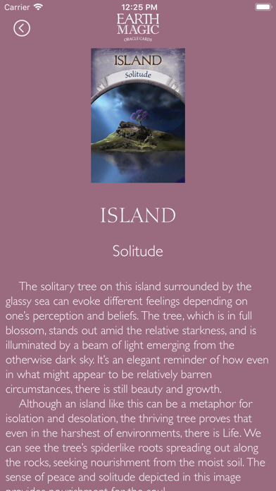 Earth Magic Oracle Cards screenshot 4