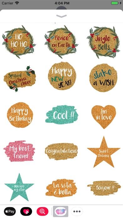 Hello - Watercolor Stickers