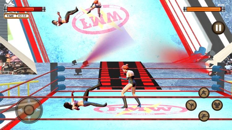 Girl Wrestling Superstar War screenshot-5