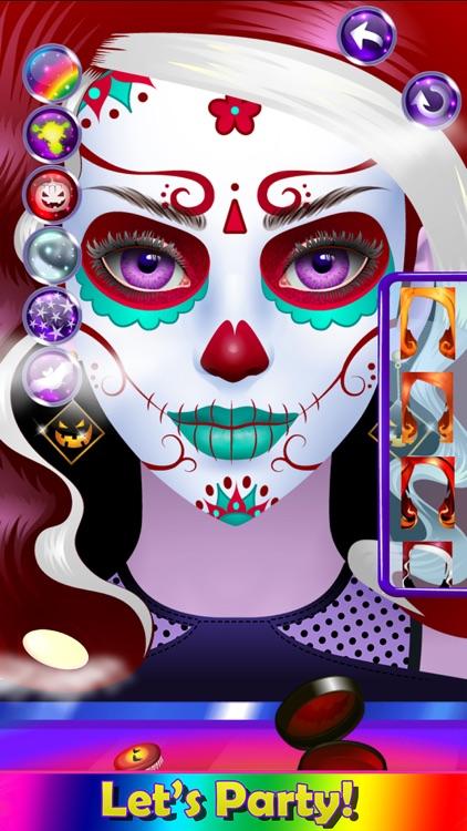 Monster Halloween Make Up screenshot-3