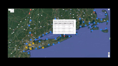 Northeast U.S.A. Tide Tables Screenshot
