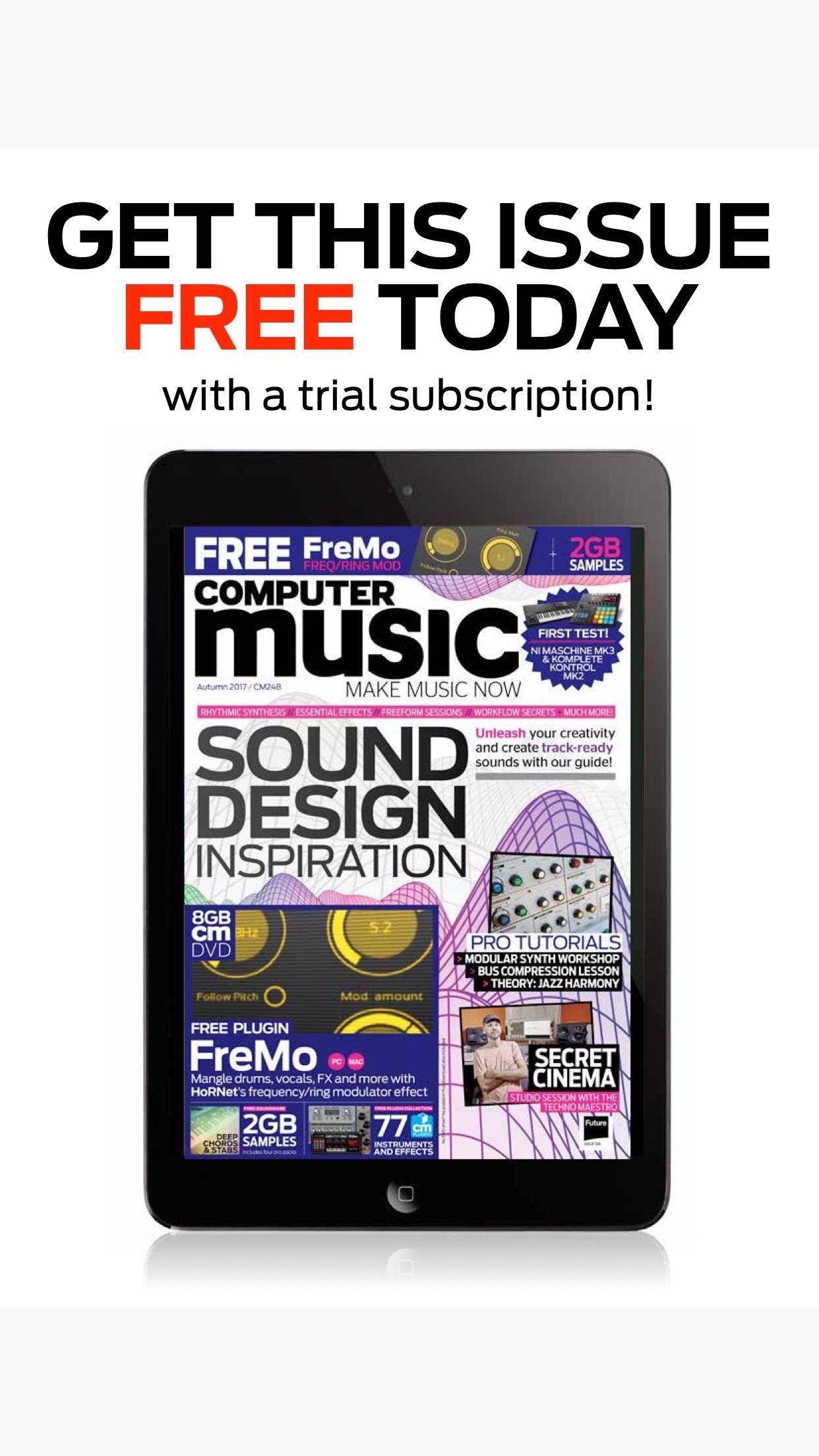 Computer Music Magazine Screenshot