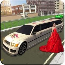 豪華轎車新娘停車遊戲