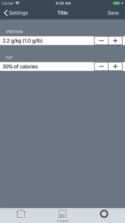 Trackit Macronutrient Tracker screenshot-7