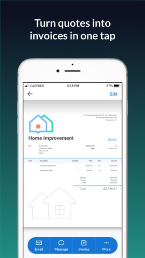 Invoice Go Invoice Quotes On The App Store - Invoice2go pricing