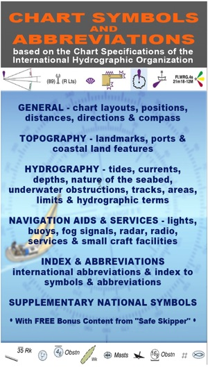 Nautical Chart Symbols Abbreviations On The App Store