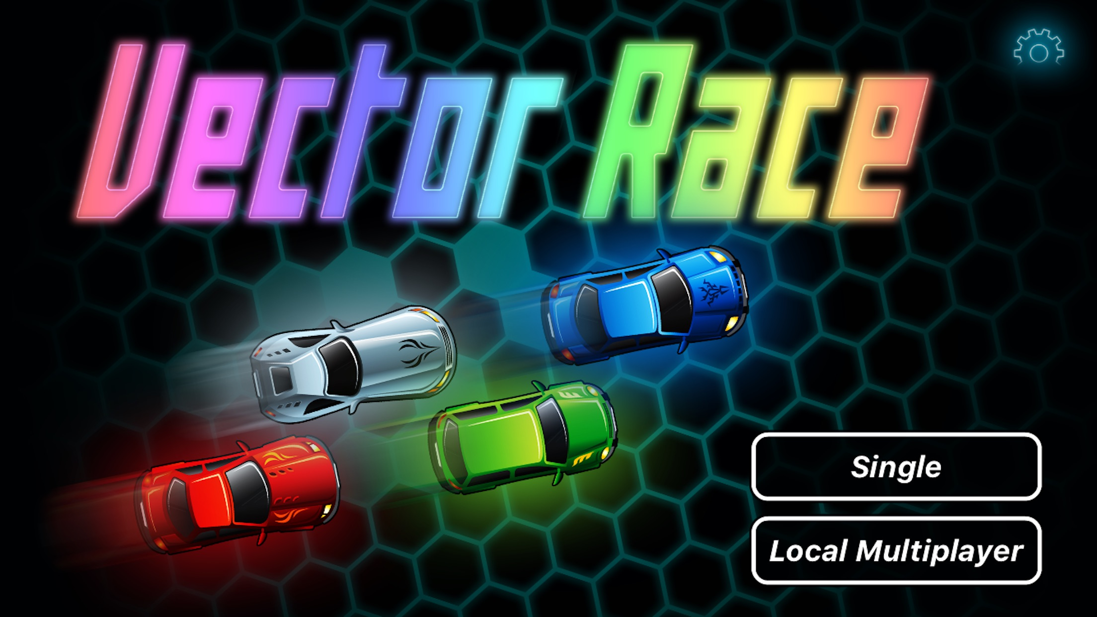 Screenshot do app Vector Race: Toy Car Track