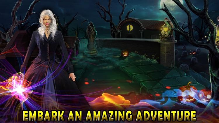 Halloween Escape Dark Fence