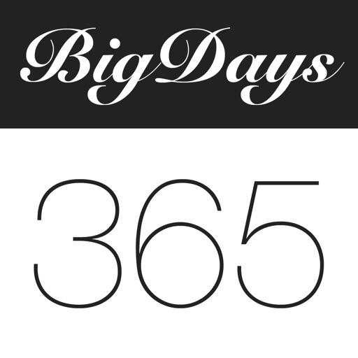Big Days - обратный отсчет
