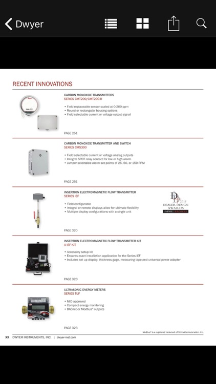 Dwyer Instruments Intl Catalog