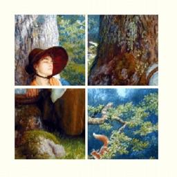Slide Puzzle: Famous Artworks