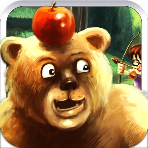 Бесплатные выстрел из лука и стрельба из лука стрелка Game - Пушистые Fun медведь