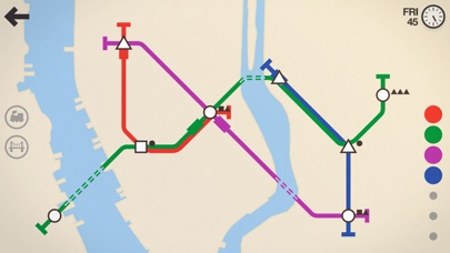 Screenshot #6 for Mini Metro