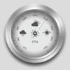 Barometer GPS - huidige barometrische en hoogte