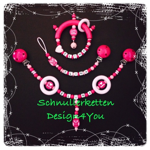 Schnullerketten Design4You icon