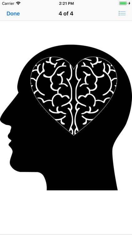 Cranial Abstract Art Stickers screenshot-7