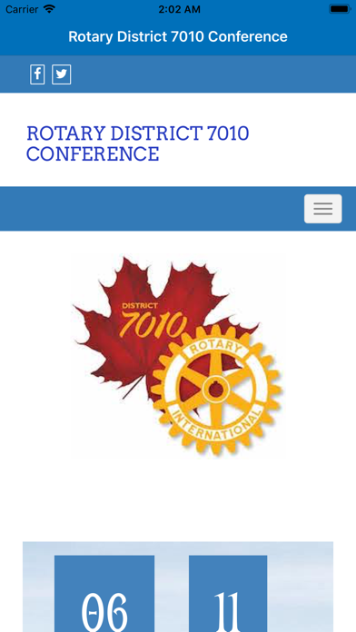 点击获取Rotary District 7010