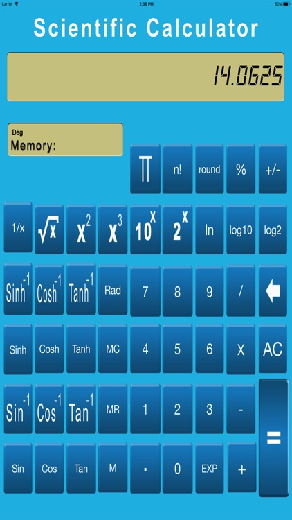 Scientific Calculator Easy screenshot-4