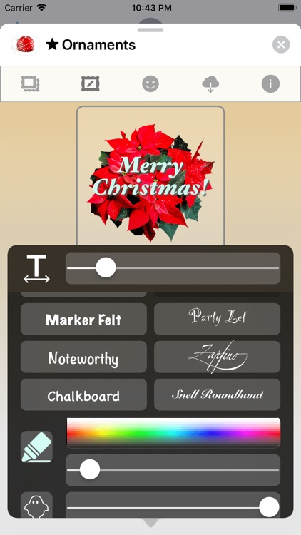 Christmas Ornaments • Stickers screenshot-2