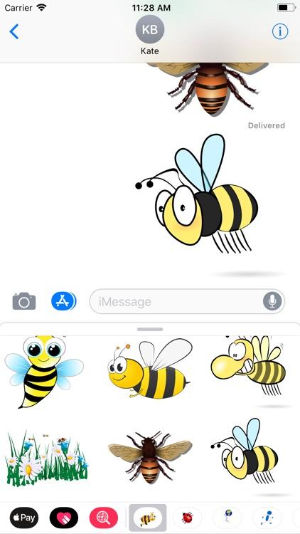 Honeybee Sticker Pack screenshot-9