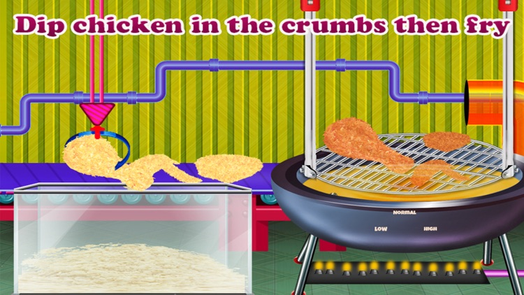 Crispy Fried Chicken Maker and Delivery screenshot-4